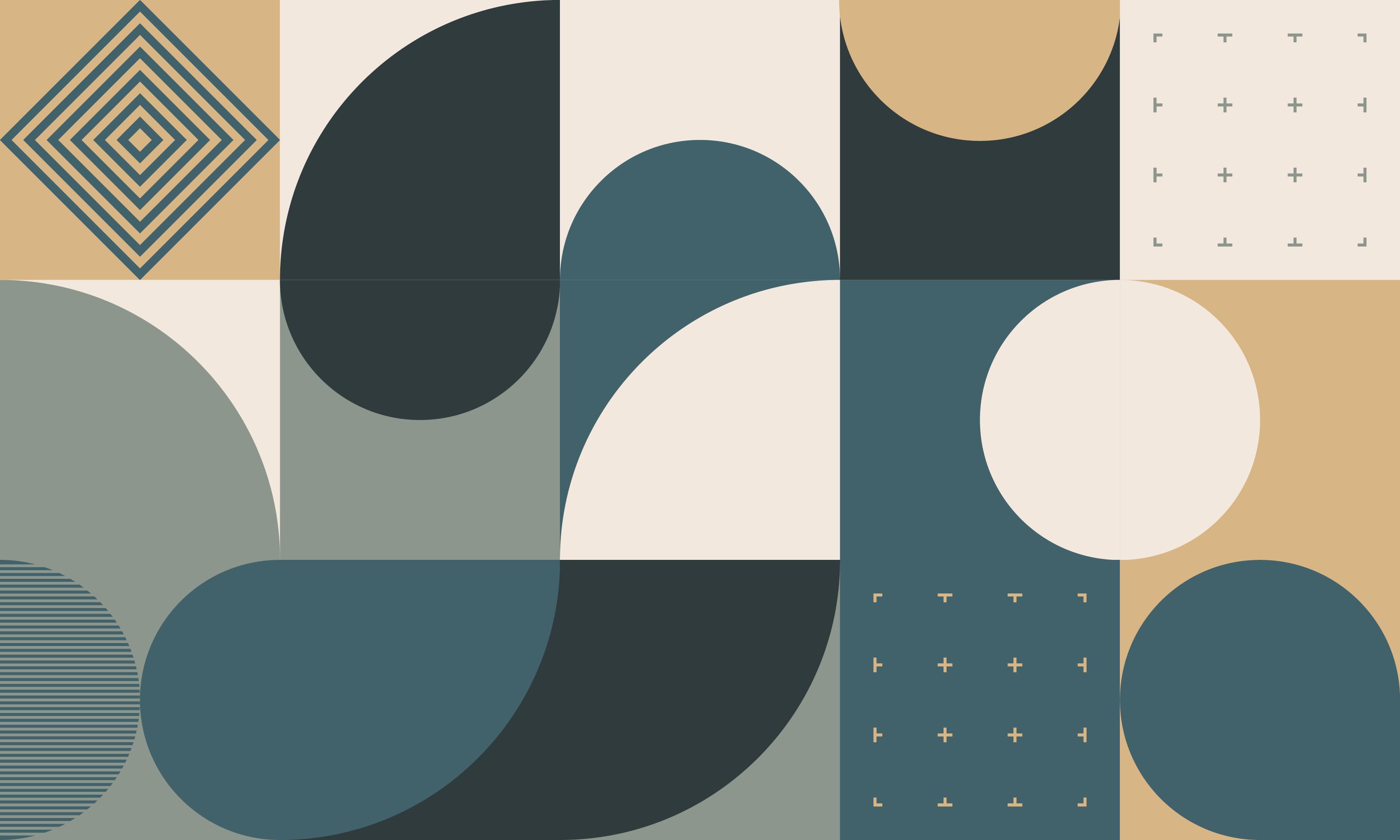 Grafik im Bauhaus-Stil